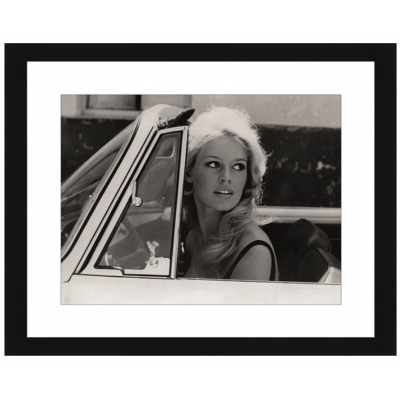 Wall Art Brigitte Bardot in cabrio